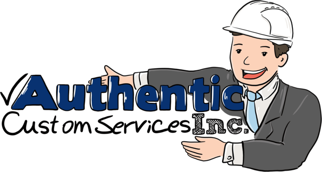 Authentic Custom Services Inc Logo