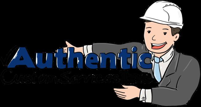 Authentic Custom Services Inc Logo
