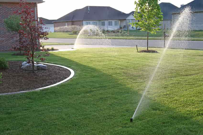 Lawn Sprinkler Maintenance